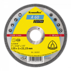 Disc for Cutting steel